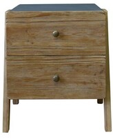 Ulibarri Wooden End Table with Storage Wrought Studio