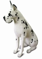 The Well Appointed House Hansa Toys Stuffed Harlequin Great Dane