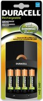 Duracell Value Charger with 4 AA Rechargeables Batteries