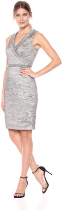 Decode 1.8 Women's Portrait Collar Cocktail Dress