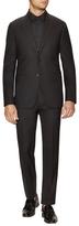 Givenchy Solid Black Notch Lapel Suit