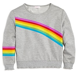 Design History Girls' Rainbow Lettuce-Edge Top - Big Kid