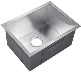 """Sabrina Barclay Rectangular 15"""" x 13"""" Undermount Kitchen Sink Barclay"""