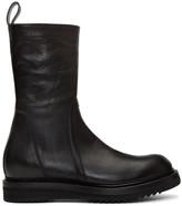 Rick Owens Black Creeper Lace-up Boots