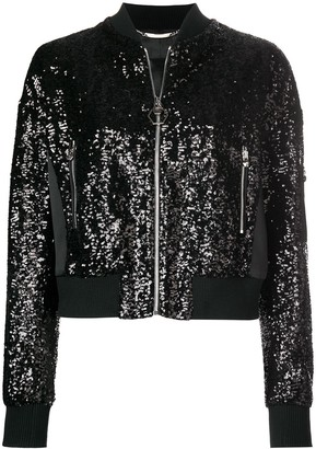 Philipp Plein You're Always On My Mind bomber jacket