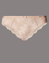 Autograph Dentelle Lace Low Rise Brazilian Knickers
