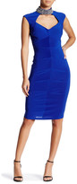 Marina Embellished Cutout Bodycon Dress
