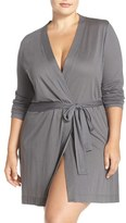 Yummie by Heather Thomson Plus Size Women's Jersey Robe