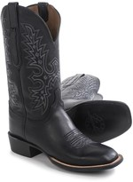 """Lucchese Wide Square Toe Cowboy Boots - 12"""" (For Men)"""