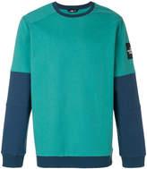 The North Face colour block sweatshirt