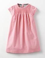 Boden Pintuck Ruffle Dress