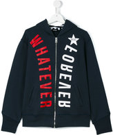 Diesel teen printed hoodie - kids - Cotton - 14 yrs
