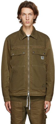 Diesel Brown J-Berkley Jacket
