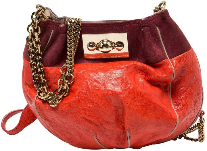 Chloé Orange Leather Handbag