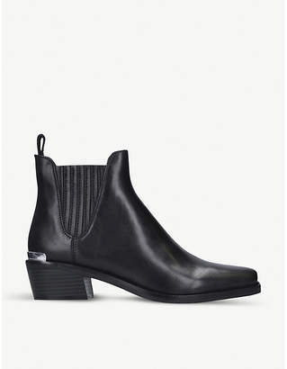 DKNY Michelle leather ankle boots