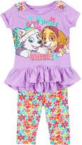 Children's Apparel Network Purple 'G'rl Power' PAW Patrol Top & Leggings - Toddler & Girls