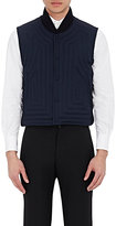 Thom Browne MEN'S DOWN-QUILTED VEST-NAVY SIZE 4