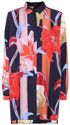 Etro Printed silk blouse