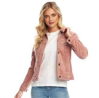 Fluid Womens Corduroy Jacket Dusky Pink