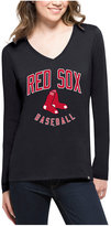 '47 Women's Boston Red Sox Splitter Arch Long-Sleeve T-Shirt