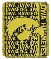 "NCAA Iowa Jacquard Throw - Multi-Colored (48""x60"")"