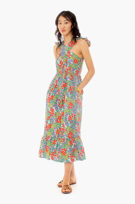 Banjanan Cottage Garden Poppy Multi Cecil Dress