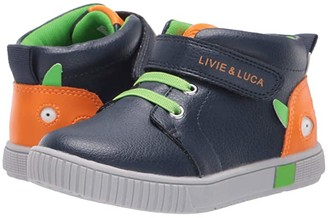 Livie & Luca Sneak (Toddler/Little Kid) (Navy) Boy's Shoes
