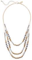 New York & Co. 4-Row Tassel & Pendant Necklace