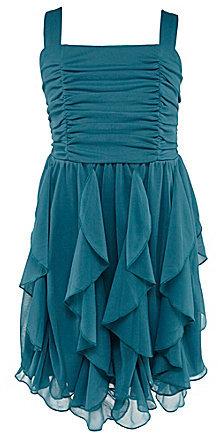 Ruby Rox 7-16 Corkscrew-Skirted Dress