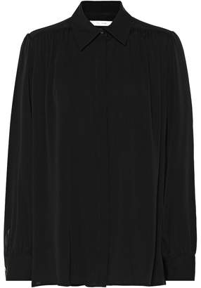 The Row Choi silk-blend blouse