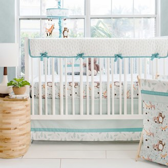 My Baby Sam Forest Friends Crib Rail Cover