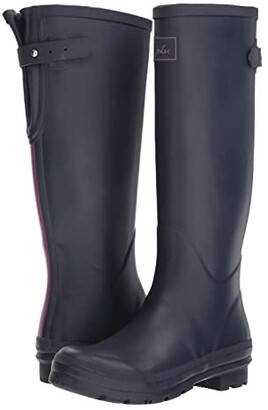 Joules Field Welly (French Navy) Women's Rain Boots