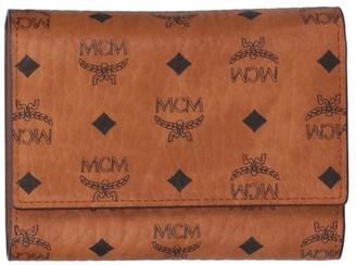 MCM Visetos Trifold Wallet