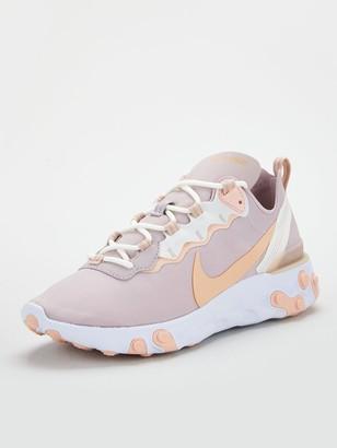 Nike React Element 55 - Grey/Pink