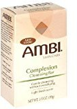 Ambi Skincare Bars Complexion Cleansing Bar, 3.5 Ounce (Pack of 6)