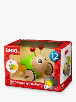 Brio Play & Learn Pull Along Light Up Firefly