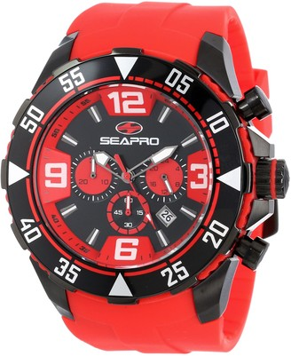 Seapro Men's SP1127 Diver Chronograph Analog Watch