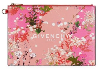 Givenchy Floral Logo Pouch