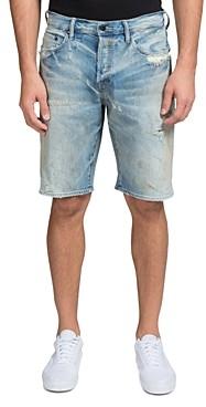 PRPS Overland Slim Fit Denim Shorts in Indigo