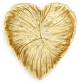 AERIN Textured Brass Heart Dish