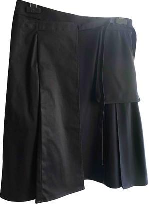 Carven Navy Cotton Skirt for Women