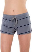 Saint Grace Sunset Stripe Cali Shorts in Fifty