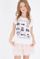 Forever 21 A Thousand Likes Graphic Tee (Kids)