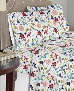 Celeste Home Luxury Weight Cotton Flannel Sheet Set Bedding