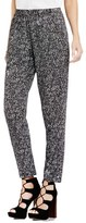 Vince Camuto Women's 'Texture Tweed' Print Slim Leg Pants