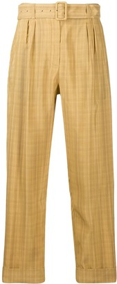DEPARTMENT 5 Belted High-Waist Trousers