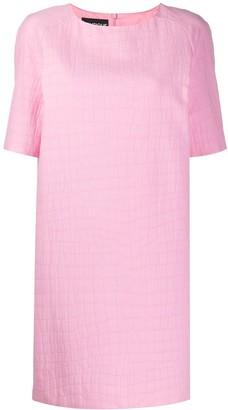 Moschino crocodile effect T-shirt dress