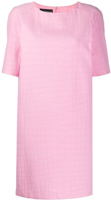 Boutique Moschino crocodile effect T-shirt dress
