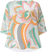 Emilio Pucci signature print blouse