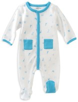 Absorba Infant Boys' Zoo Footie - Sizes 0/3-6/9 Months